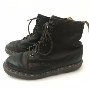 Dr Martens 1460 8-Eye Boots Brown Lace Up Size 10